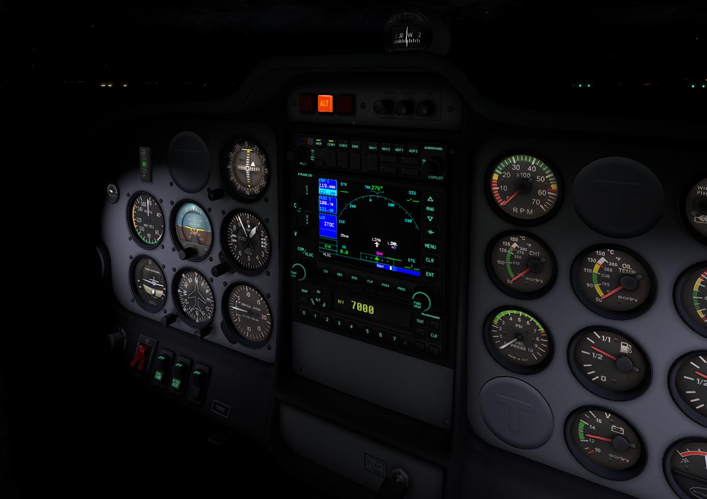 tecnam p2002   dmax3D, X-Plane models and more