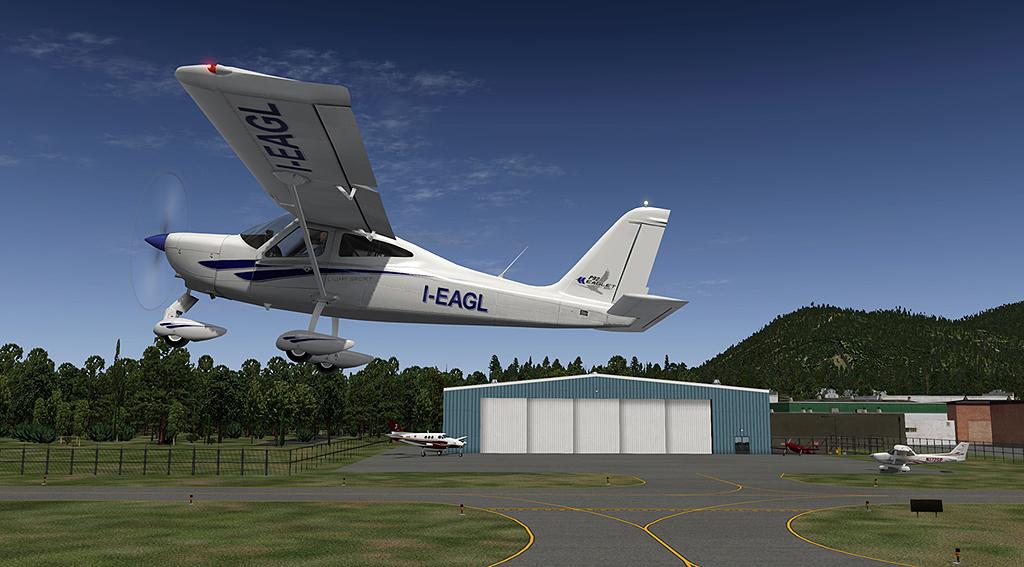 tecnam p92 | dmax3D, X-Plane models and more
